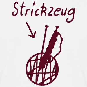 Strickzeug - stricken T-Shirts - Men's T-Shirt