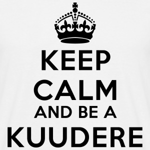Keep calm and be a kuudere T-shirts - T-shirt herr