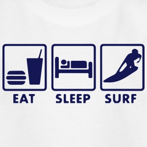 Surf Eat sleep Tee shirts - T-shirt Ado