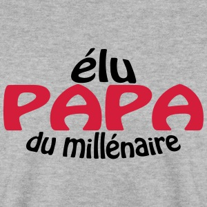PAPA du millenaire Sweat-shirts - Sweat-shirt Homme