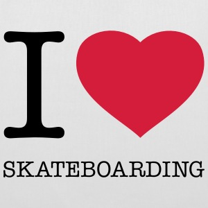 I ♥ SKATEBOARDING - Tote Bag