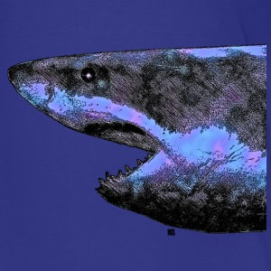 Blue Shark Shirts - Teenage Premium T-Shirt