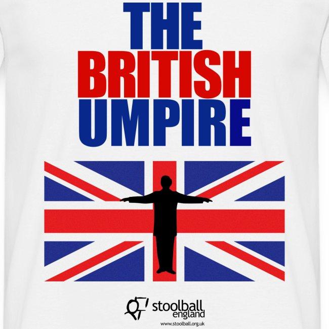 British Umpire Men's T-Shirt
