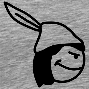 Robin Hood Smiley T-Shirts - Men's Premium T-Shirt