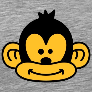 Cute Monkey Face T-Shirts - Men's Premium T-Shirt