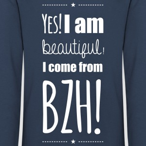 Yes! I am beautiful! I come from BZH! Tee shirts manches longues - T-shirt manches longues Premium Enfant