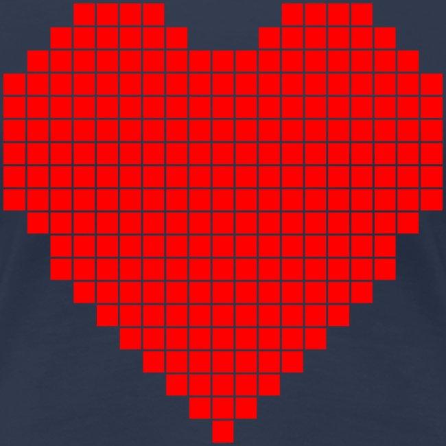 Pixel Heart T