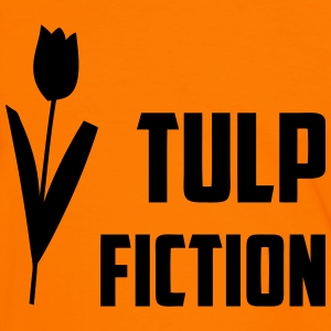 Tulp Fiction T-shirts - Mannen contrastshirt