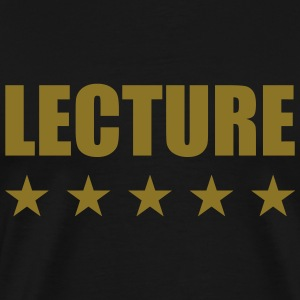 Lecture Tee shirts - T-shirt Premium Homme