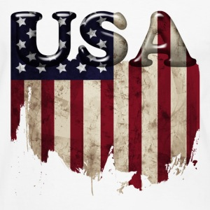 usa_grunge4 Tee shirts - T-shirt contraste Homme