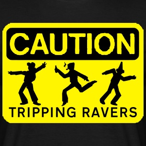 rzhw_caution-trip T-Shirts - Men's T-Shirt
