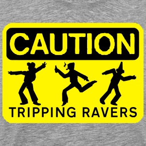 rzhw_caution-trip T-Shirts - Men's Premium T-Shirt