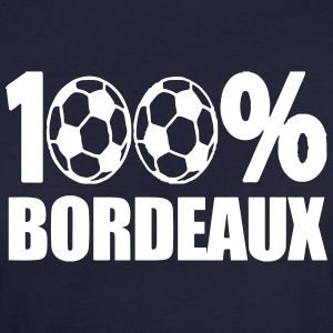 100% Bordeaux football 33 Tee shirts - T-shirt Bio Femme