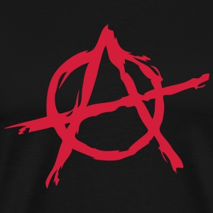 Anarchy symbol chaos rebel revolution punk fighter Tee shirts - T-shirt Premium Homme