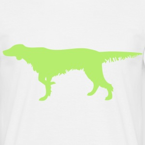 Pointing Setter T-Shirts - Männer T-Shirt