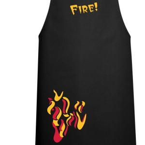 flames  Aprons - Cooking Apron