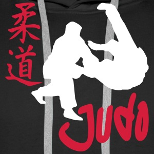 Judo tatami Sweat-shirts - Sweat-shirt à capuche Premium pour hommes