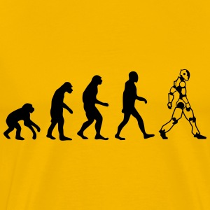evolution cyborg T-Shirts - Men's Premium T-Shirt