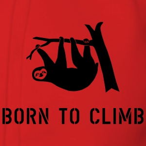 climbing boulder mountain sloth born to climb  Hoodies & Sweatshirts - Women's Premium Hooded Jacket
