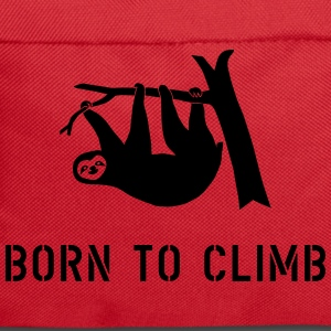 climbing boulder mountain sloth born to climb  Bags & backpacks - Backpack