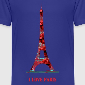 I love Paris T-Shirts - Teenager Premium T-Shirt