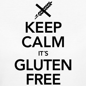 Keep Calm It´s Gluten Free T-Shirts - Women's Organic T-shirt