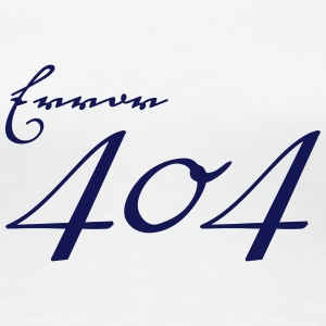 Error 404 T-Shirts - Frauen Premium T-Shirt