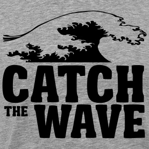 Catch the wave T-shirts - Mannen Premium T-shirt