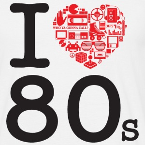 I love 80's Tee shirts - T-shirt Homme