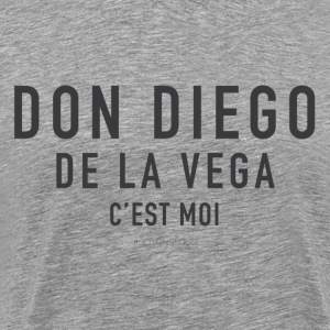 dondiego_gris Tee shirts - T-shirt Premium Homme