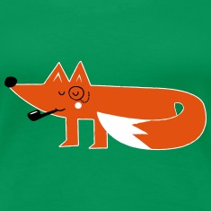 Funny swag hipster cartoon fox T-Shirts