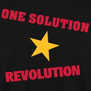 One Solution - Revolution - Männer Pullover
