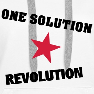 One Solution - Revolution - Frauen Premium Hoodie