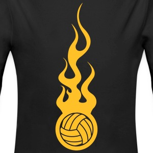 Volleyball Hoodies - Longlseeve Baby Bodysuit