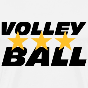 Volleyball T-shirts - Herre premium T-shirt