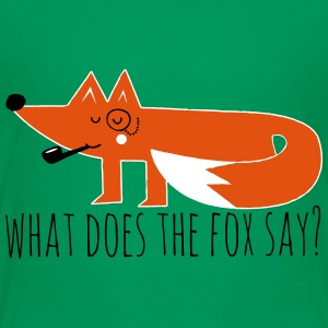 Funny Hipster Swag Trendy comic cartoon Fox Shirts - Kids' Premium T-Shirt