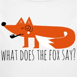 Funny Hipster Swag Trendy comic cartoon Fox Hoodies - Baby One-piece