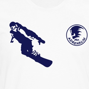 snowboarder Tee shirts manches longues - T-shirt manches longues Premium Homme