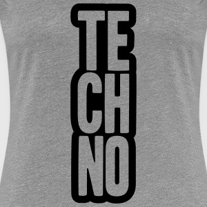 Techno Music Design T-Shirts - Women's Premium T-Shirt