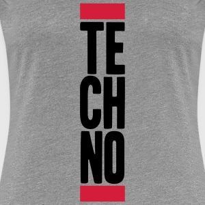 Techno Music T-Shirts - Women's Premium T-Shirt