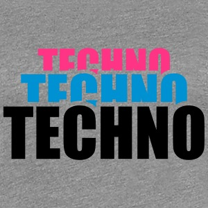 Cool Techno Design T-skjorter - Premium T-skjorte for kvinner