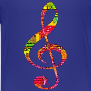 Music key Shirts - Teenage Premium T-Shirt