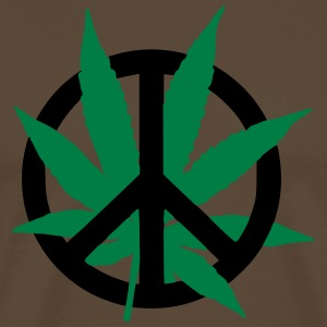Cannabis Peace T-Shirts - Men's Premium T-Shirt
