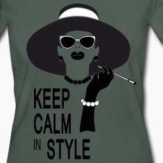 keep calm in style T-skjorter