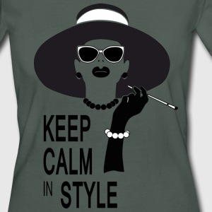 keep calm in style Camisetas - Camiseta ecológica mujer
