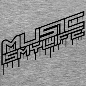 I Love Music T-shirts - Mannen Premium T-shirt