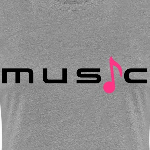 Music Sound T-skjorter - Premium T-skjorte for kvinner