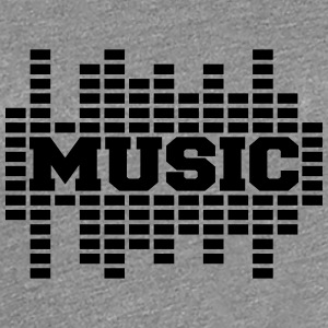 Music Sound Logo T-Shirts - Women's Premium T-Shirt