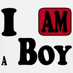 I am a Boy Tee shirts - T-shirt Homme