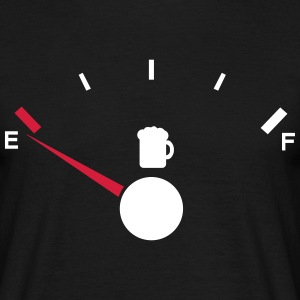 Beer tank indicator Empty  T-Shirts - Men's T-Shirt